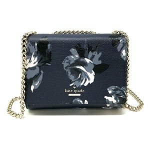 Kate Spade Mini Emelyn Crossbody Night Rose Navy